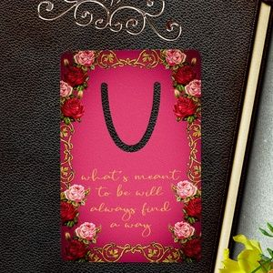 Accessories - Inspirational Floral Bookmark